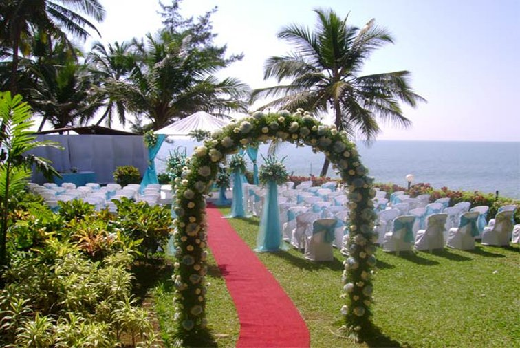 Wedding Celebration at Beach Resort